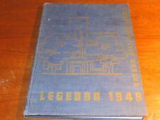 High School Yearbook Saginaw Michigan Arthur Hill High School Legenda 1949