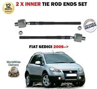 FOR FIAT SEDICI 1.6 1.9D 2.0D 2006 -> 2 X INNER STEERING RACK TIE ROD END SET