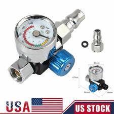 """1/4"""" Mini Air Spray Gun Regulator Gauge Pressure Regulator Compressed Air Tools"""