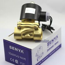 DC 12V Electric Solenoid Valve Switch Water Air 1/2