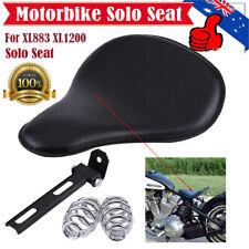 Motorcycle Solo Seat Kit Motorbike Seat for XL883 XL1200 Chopper Bobber HOT
