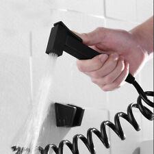 Matte Black Brass Diaper Bidet Sprayer Shower Shattaf Spray Douche PP Hose Set