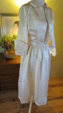 Liquid Satin 1940s 50s Hollywood Glamour Wedding Dress & Bolero Cropped Jacket 4