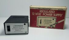 MICRONTA 22-124A Regulated 12 Volt Power Supply (120 VAC to 12 VDC)