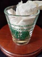 Collectible Barware Shot Glass Arkansas Razorbacks UA