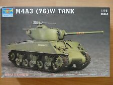 Maquette 1/72 Sherman M4A3 Trumpeter