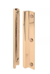 "Defender 6"" Brass Steel Interlocking Latch Shield Security Inward/Swing In Doors"