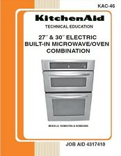 27˝ & 30˝ ELECTRIC BUILT-IN MICROWAVE/OVEN COMBINATION Service Manual
