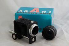 Genuino Original Asahi Pentax Fuelle unidad con Mepro Auto 2X Convertidor M42 B