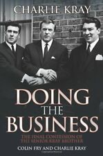 Colin Fry And Charlie Kray _ Doing The Business _ Brand New _ Freepost Uk