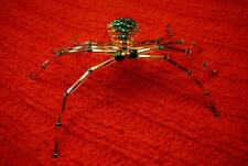Green Beaded Spider & Stories - Native American Indian
