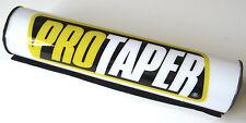"""Pro Taper 10"""" White Crossbar Handlebar Bar Pad CR CRF XR YZF WRF EXC RMZ KXF NEW"""