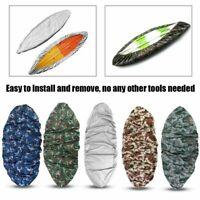 Camouflage Kayak Boat Waterproof UV Resistant Dust Storage Cover Shield DD