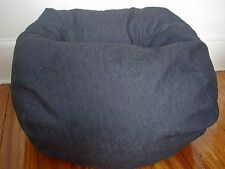 Blue Denim Kid Adult Bean Bag Beanbag Chair SHELL ONLY New