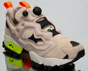Reebok Classic InstaPump Fury Trail Men's Beige Black Lime Lifestyle Sneakers
