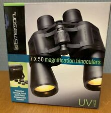 New Emerson 7X50 Magnification Binoculars Uv Optics Nib