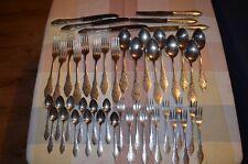 Hanseat, 47 teiliges Besteck-Set, Ostfriesenmuster, 90iger Silber