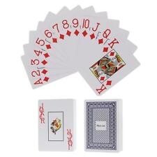 Blue Playing Cards Poker Game Smooth Recreation Playing Card Pack of 54pcs