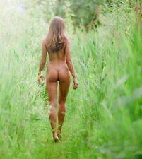"Beautiful Fine Art Nude - ""Summertime"" - 8 x 10 Print"