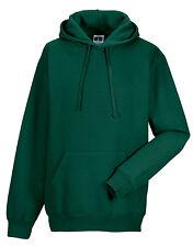 Russell Hooded Men's Casual Hoodie Sweatshirt S Bottle Green