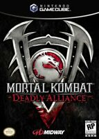 Mortal Kombat Deadly Alliance Nintendo Gamecube Game Complete