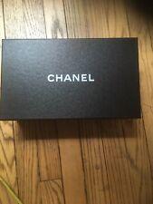 Empty Chanel Black Shoe Authentic