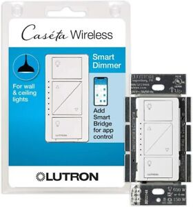 Lutron Caseta Smart Home Dimmer Switch