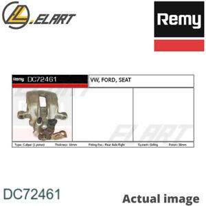 BRAKE CALIPER FOR VW SEAT FORD GOLF III 1H1 AAM ADZ ACC ABS 2E ADY ABA AKR REMY