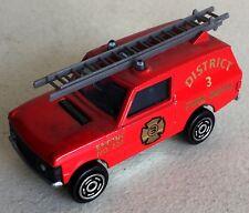 Majorette ref 246 Range Rover pompiers 1/60ème vintage