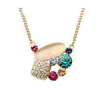 Collana Donna Cristallo Swarovski elements Zircone Multicolore A45