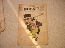 1885.Don Quichotte caricature.résurrection Coeur-léger