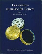 Catalogue Les montres du musée du Louvre Collection montre watch Armbanduhr