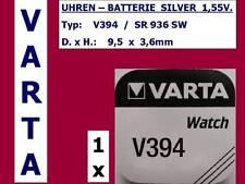 394 , V394 , SR936SW Batterie Varta Watch Knopfzelle 1,55V.