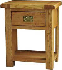 Grasmere solid oak furniture lamp side end table