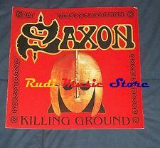 CARTONATO PROMOZIONALE SOTTILE SAXON KILLING GROUND no cd dvd lp mc