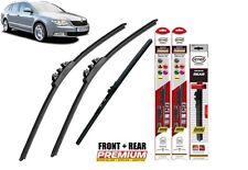 """Skoda Superb Estate 2009-2015 full set quality windscreen wiper blades24""""18""""16"""""""