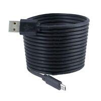 Micro USB 2m Handy Ladekabel Datenkabel Netzteil Schwarz für Smartphone Auto PC