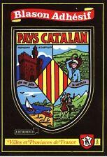 carte Kroma adhésif PAYS CATALAN sticker héraldique blason wappen Catalogne Elne