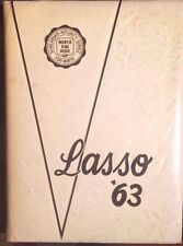 Lasso North Side High School Fort Worth Texas 1963 Annual Yearbook