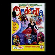 CINDERELLA 1955 1966 CHILDHOOD PRODUCTIONS COSTUME FAIRY TALE DVD & CD!