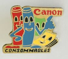 Canon Consommables Office Equipment Brand Pin Badge Vintage (C13)