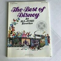 Hal Leonard Best Of Disney Movies Piano Vocal Guitar Songbook Sheet Music Book