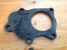 "Mild Steel Exhaust Flange for Subaru Impreza TD04/5 Turbo, 10mm, 2 1/2"" hole"