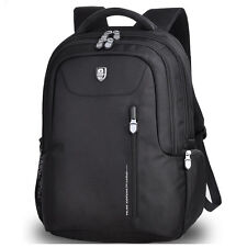 "15.6"" Laptop Backpack Notebook Rucksack Bag Water Resistant UK"