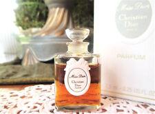 Vintage Dior Miss Dior Parfum/Pure Perfume Splash 1/4oz-7.5ml New In Box Rare!
