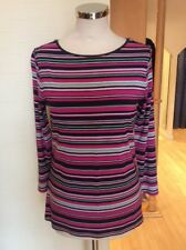 Betty Barclay Top Size 12 Navy Pink Green White Now