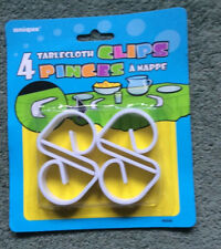 TABLECLOTH CLIPS; pack of 4