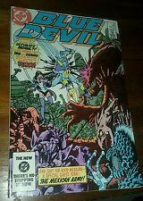 blue devil #5 signed by gary cohn and paris cullins dc comics comic book vintage