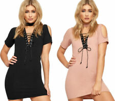 Lace Dresses for Women with Cold Shoulder