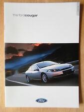 FORD COUGAR orig 2000 UK Mkt Sales Brochure - 2.0i 16v & 2.5i 24v V6